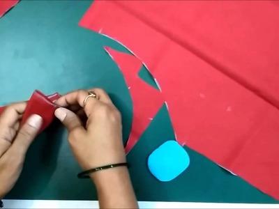 Single Katori Blouse Measurement Paper cutting and Stitching Part 2