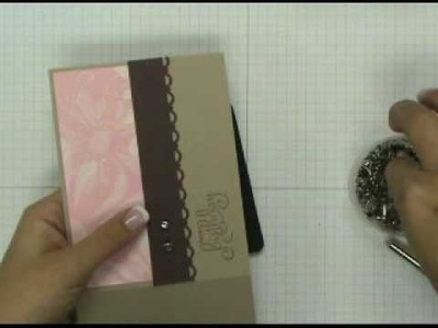 Stampin' Up! Tutorial: Butterfly Friendship Card