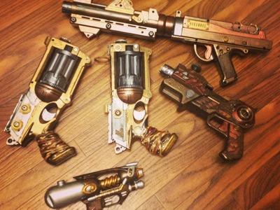 Steampunk Gun How To