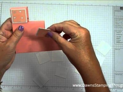 Step block card with Dawn