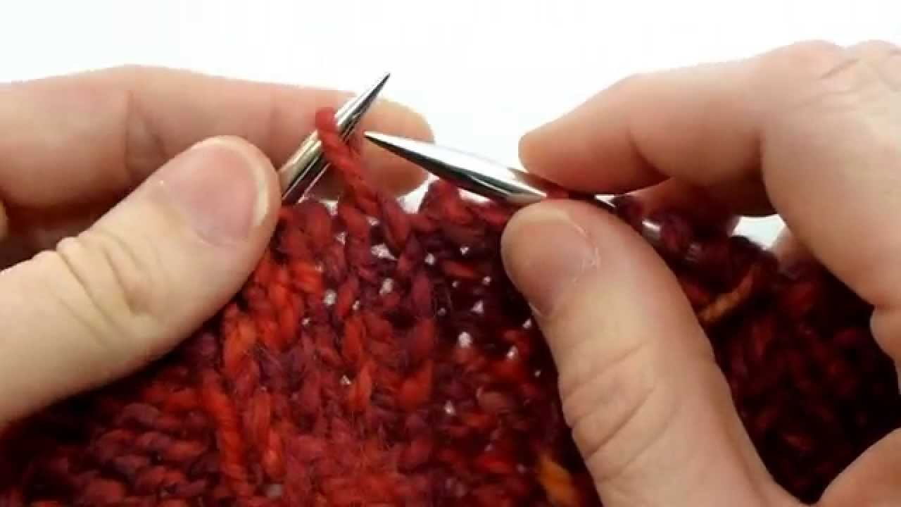 Technique Thursday #1 Knitting Cables without a Cable Needle