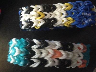 WonderLoom (Rainbow Loom) Penguin Bracelet
