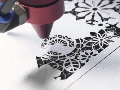 100 Watt Laser Cutting Paper Wedding Invitation