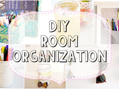 9 DIY Room Organization & Storage Ideas & Decor || How To Clean Your Room