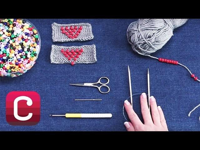 Beaded Knitting with Marly Bird | Creativebug