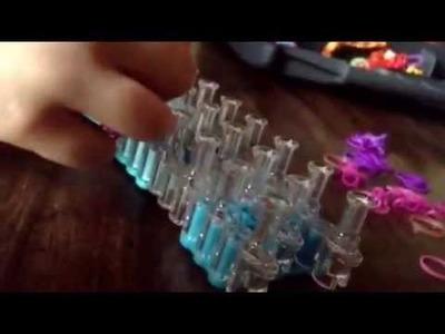 Bracelet elastique avec billes. Ma propre invention très facile!