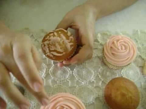 Buttercream Cupcake Rose