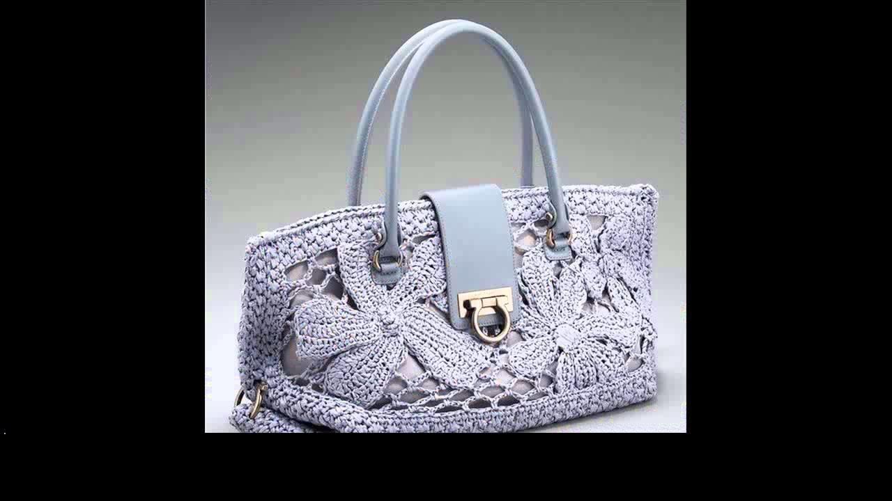 Crochet purses and bags tutorials