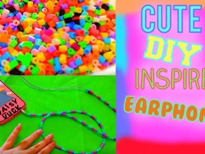 Cute DIY inspired Earphones!!!