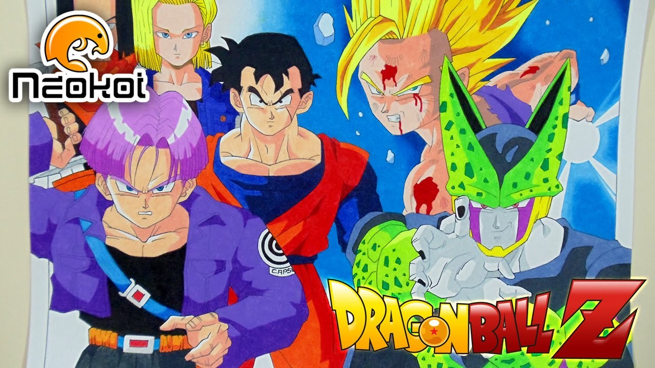 Dibujando la Saga de Cell y los Androides (Dragon Ball Z) | Neokoi Comics