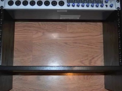 DIY 6U Economy Rack - Build a 6 unit rack for cheap using a Ikea nightstand