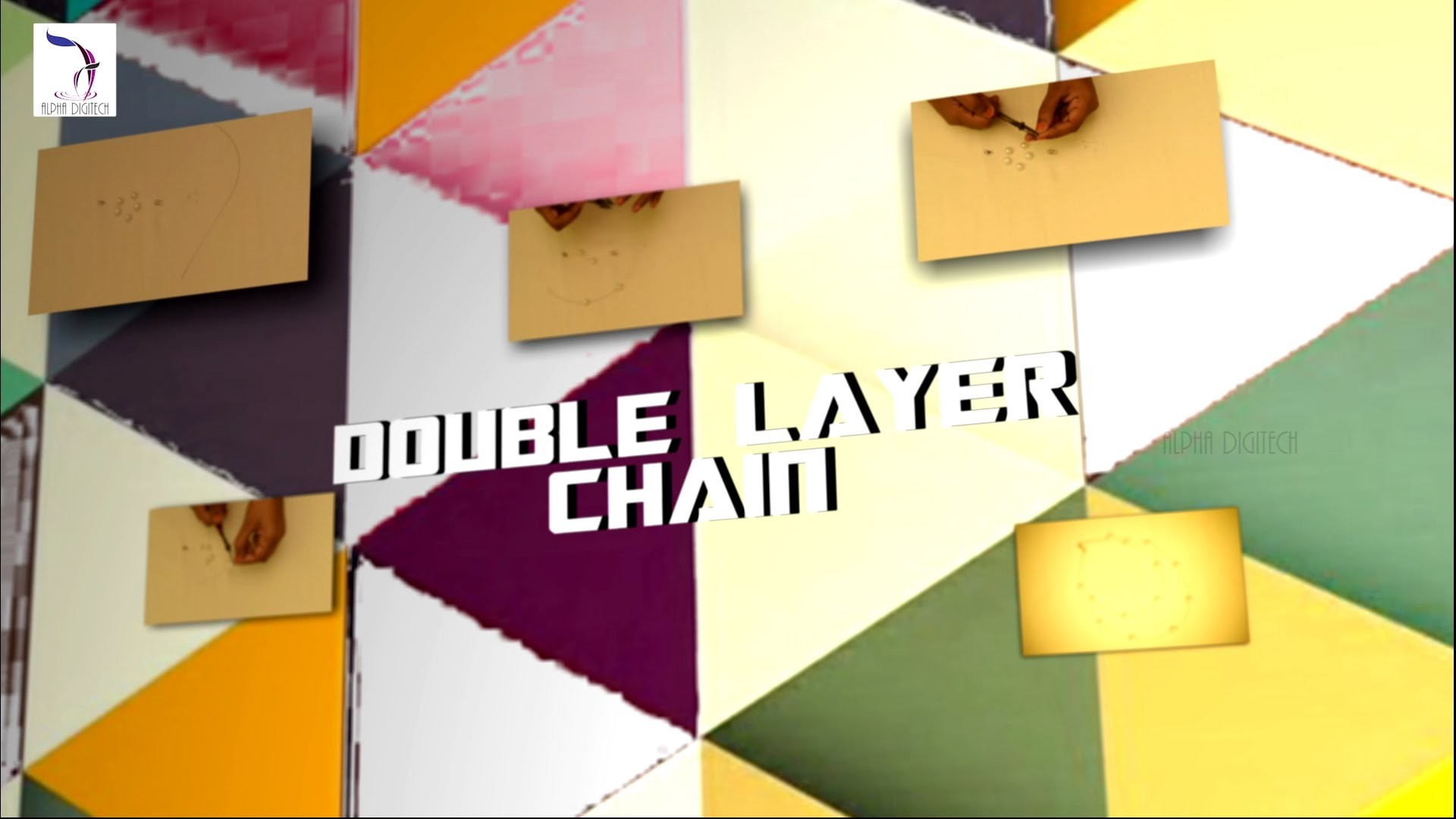 DIY  : Double Layer Chain | Simple Jewelry | Jewelry Making