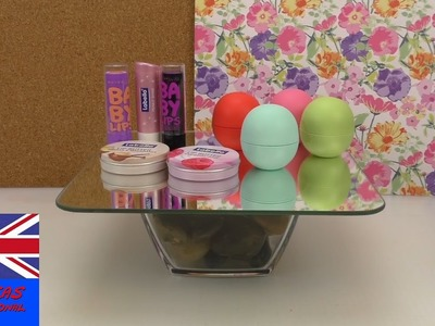 DIY Dressing Table Tutorial - Room Decor & Makeup Storage - make a cosmetic mirror table!!