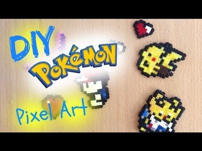 DIY Pokemon pixel art