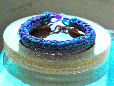 DIY SUMMER BRACELET How TO MAKE A WATERPROOF rubber Band Step by Step tutorial