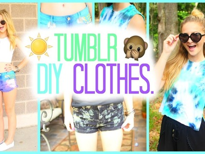 DIY Tumblr Inspired Summer Clothes 2015!