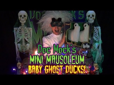 Doc Mock's Baby Ghost Ducks Halloween Lawn Ornaments Unboxing & Review!
