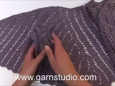 DROPS Crochet Tutorial - How to work chart A.9 to A.12 in DROPS 166-44