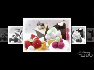 Felt Cuisine - Pretend Play Food - D.I.Y Kits