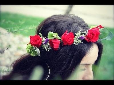 Flower Crown DIY | ShowMeCute