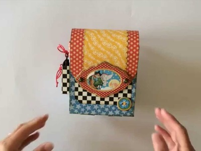 Graphic 45 Mother Goose Backpack Gift Box and Mini Album