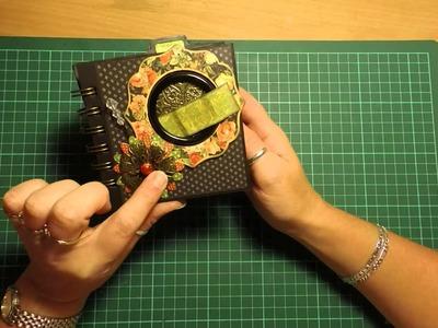 Handy Hippo DT Project - G45 Eerie Tale - 2x Toilet Paper Mini Albums