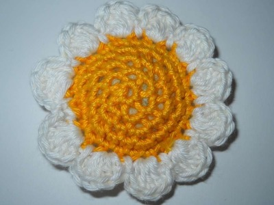 How To Crochet A Chubby Pincushion Daisy - DIY Crafts Tutorial - Guidecentral