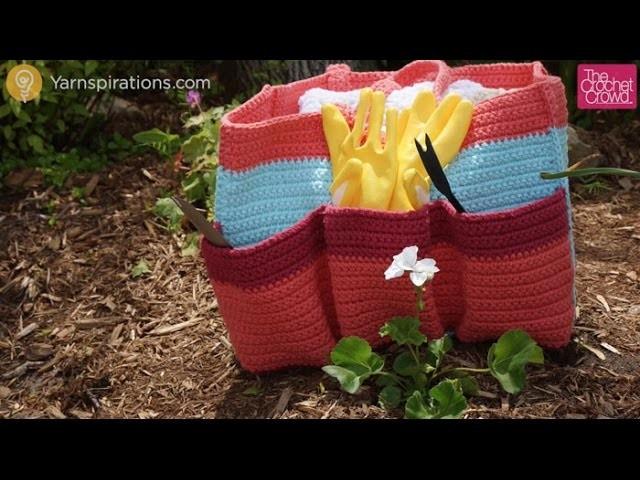 How to Crochet Garden Tote Bag: Updated Version