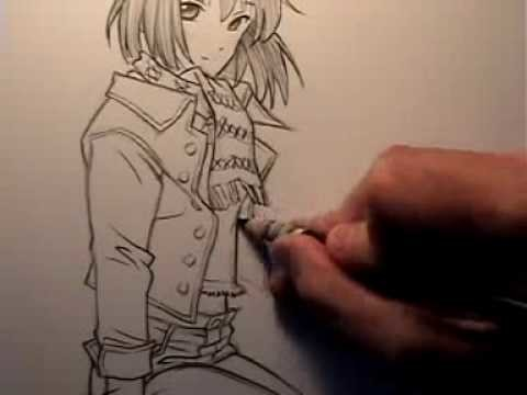 How to Draw Clothes for Manga.Comic Books