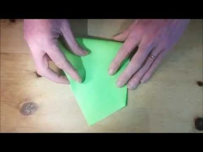 How to fold PENTAGON from A4