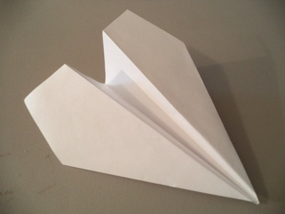 How to Fold the World's Farthest Flying Paper Airplane (Designed by John Collins)