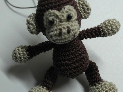 How To Make A Cute Crocheted Monkey Charm - DIY Crafts Tutorial - Guidecentral