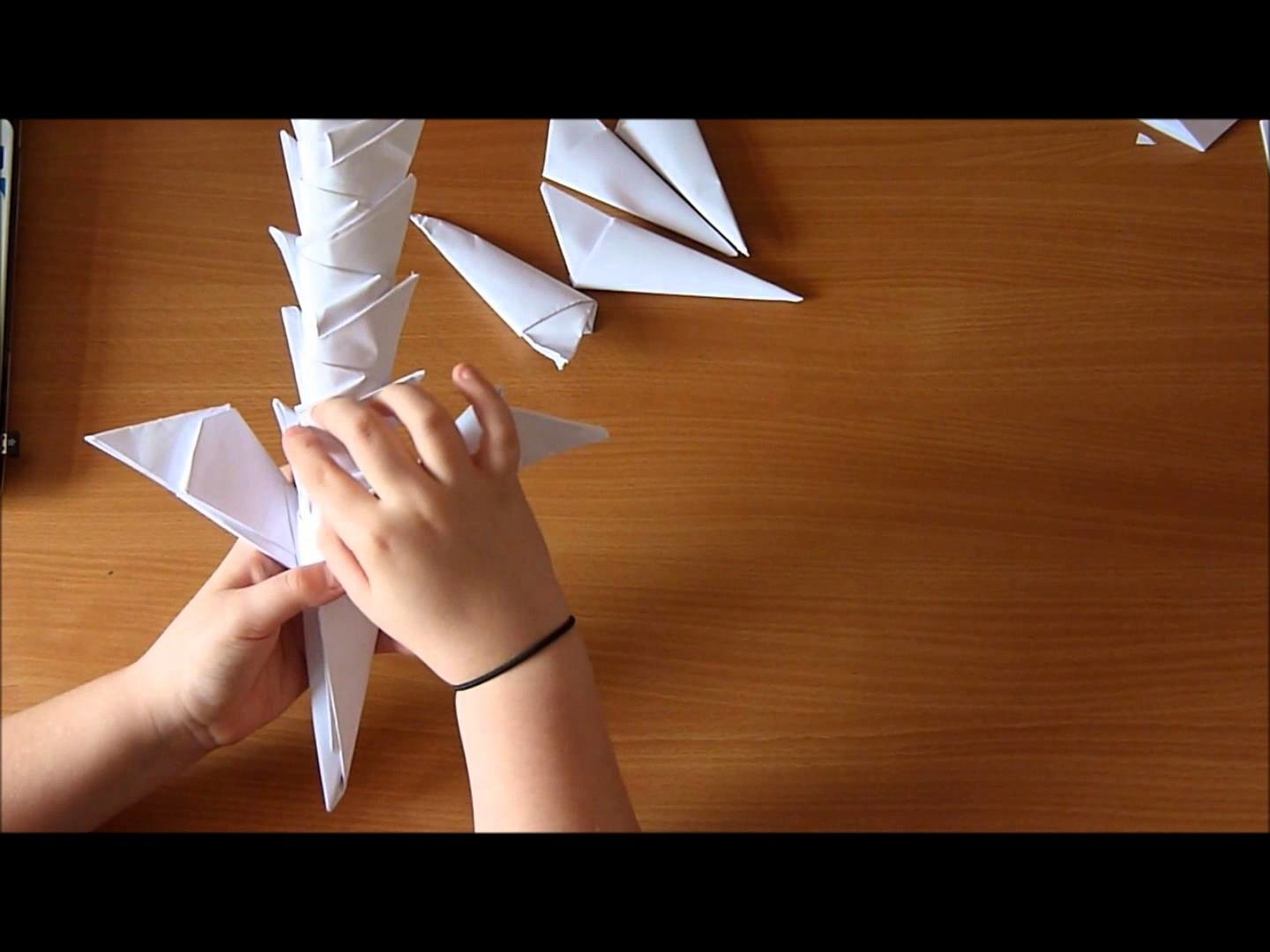 How to make a paper sword with no glue.tape (version 2)