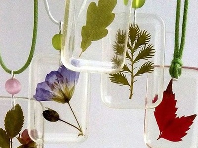 How To Make A Transparent Pendants With Plants - DIY Style Tutorial - Guidecentral
