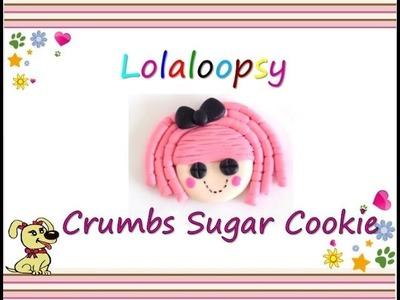 How to make lalaloopsy clay. como hacer lalaloopsy clay