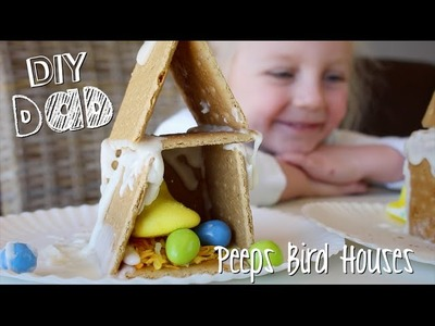 HOW TO MAKE PEEPS HOUSES | DIY Dad: epoddle
