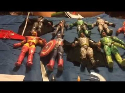 How To Turn WWE Figures Into Marvel.DC Figures Using Paper!