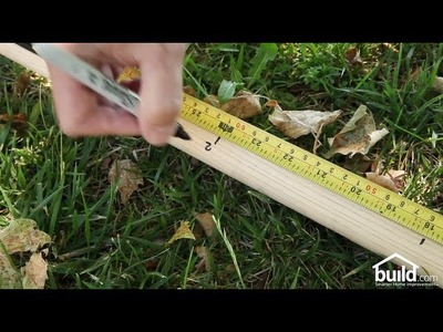 How To Use Your Shovel As A Measuring Stick - DIY Quick Tips