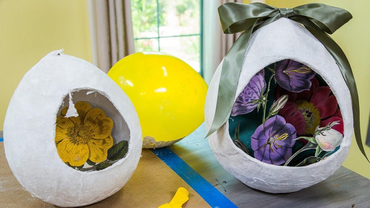 Ken Wingard's DIY Plaster Easter Egg