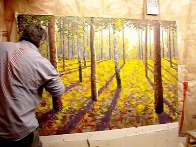 Landscape Painting Maxim Grunin Part 2