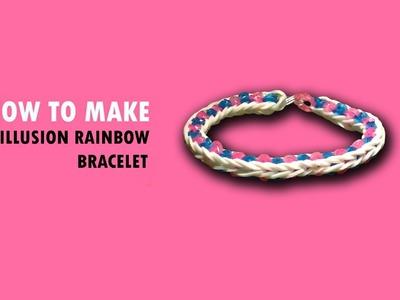 Magic Loom | Rainbow Loom - How to make: Illusion Bracelet [EASY]