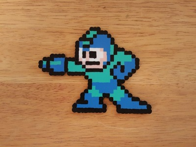 Mega Man 1 - Perler Bead Art - Time Lapse