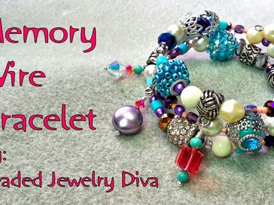 Memory Wire Bracelet Tutorial - How to Make a Memory Wire Bracelet (Updated)