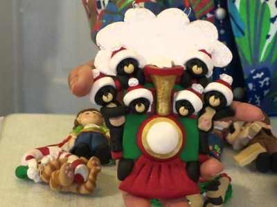 New Polymer Clay Ornaments with Deb & Felix