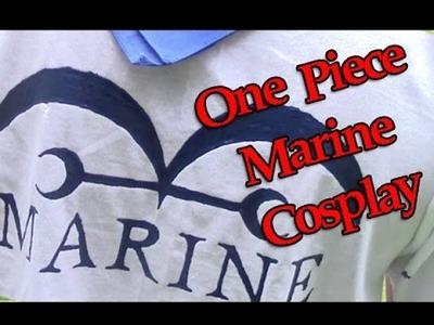 One Piece Marine Cosplay DIY Tutorial