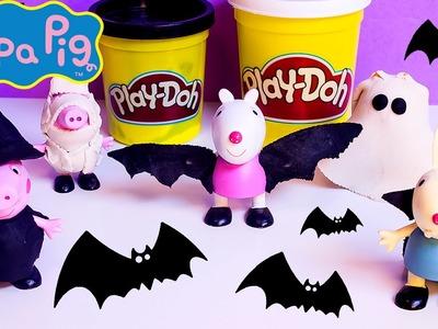 Play Doh Peppa Pig Halloween Costume DIY Ghost Pumpkin Witch Mummy