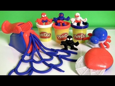 Play Doh Spider-Man Super Tools Playset Marvel Play Dough Spider Web Homem-Aranha | Hombre Araña