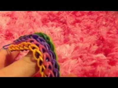 Rainbow loom bracelets with 2 looms