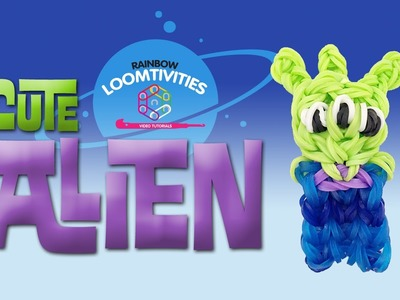 Rainbow Loom Cute (Kawaii) Toy Story Alien Tutorial