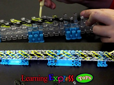 Rainbow Loom: Double Braid Bracelet Tutorial